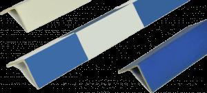 Kantenschutzprofil farbig